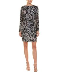 Reiss - Lotta Blouson Dress - Lyst