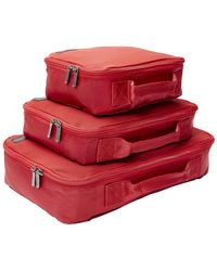 Genius Pack - Set Of 3 Compression Packing Cubes Set - Lyst