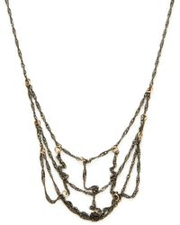 Taylor Kenney Jewelry - Two-tone Statement Necklace - Lyst