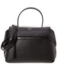 Tod's - Wave Large Leather Satchel - Lyst