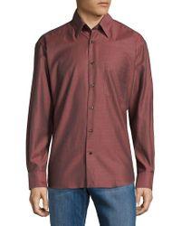 Robert Talbott - Classic Cotton Button-down Shirt - Lyst