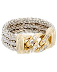 Diana M. Jewels - . Fine Jewelry 14k 0.12 Ct. Tw. Diamond Ring - Lyst
