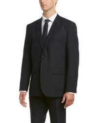 Nautica - 2pc Suit With Flat Front Pant - Lyst