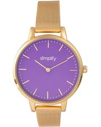 Simplify - Unisex The 5800 Watch - Lyst
