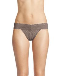 Wacoal - Lace Thong - Lyst