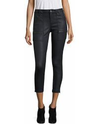 Joie - Park B Coated Skinny Jeans - Lyst