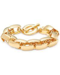 Robert Lee Morris - Braid Link Bracelet - Lyst