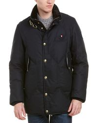 Moncler - Gamme Bleu Classic Fitted Wool-blend Down Coat - Lyst