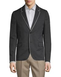 Valentino - Giacche Contrast Wool Sportcoat - Lyst