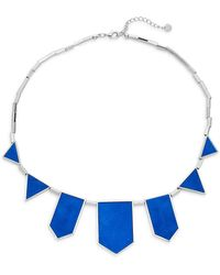 House of Harlow 1960 - Exclusive Suede Station Necklace - Lyst