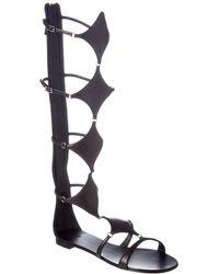 Giuseppe Zanotti - Leather Gladiator Sandal - Lyst