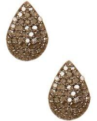 Adornia - Fine Jewellery Silver 0.70 Ct. Tw. Studs - Lyst