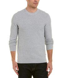 J.Lindeberg - J.lindeberg Hector Mini Structure Sweater - Lyst
