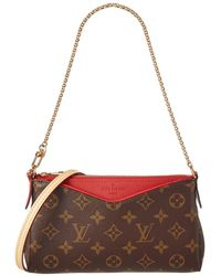 Louis Vuitton - Cherry Monogram Canvas Pallas Clutch - Lyst