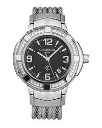 Charriol Men's Celtic Diamond Watch