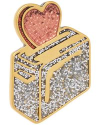 Marc Jacobs - Toast My Heart Pin - Lyst