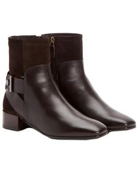 Aquatalia - Lilly Waterproof Leather & Suede Bootie - Lyst