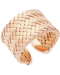 Roberto Coin - Hollow Woven Bracelet - Lyst