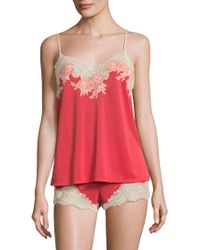 Natori | Enchant Lace Trimmed Sleepwear Set | Lyst