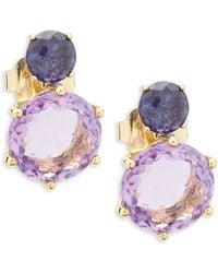 Ippolita   Rock Candy 18k Gold Drop Earrings   Lyst