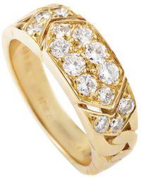 Heritage Van Cleef & Arpels - Van Cleef & Arpels 18k 0.60 Ct. Tw. Diamond Ring - Lyst