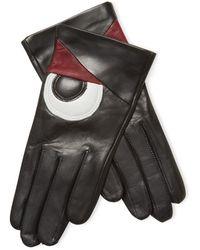 Maison Fabre - Volatile Leather Gloves - Lyst