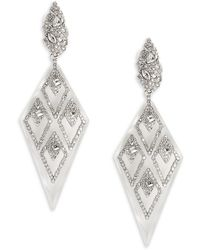 Alexis Bittar - Crystal & Lucite Drop Earrings - Lyst