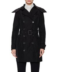 Burberry - Balmoral Hood Trench Coat - Lyst