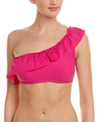 Shoshanna One-shoulder Bikini Top - Pink