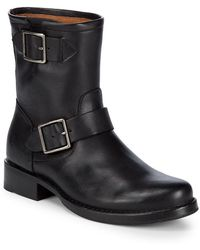 Frye - Vicky Engineer Boots - Lyst