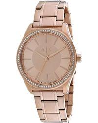 Armani Exchange Women's Nicolette Watch - Metallic