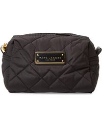 Marc Jacobs | Quilted Large Cosmetic Case | Lyst