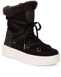 Pajar - Crista Lace-up Suede Boot - Lyst