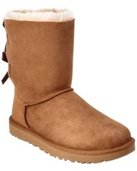 UGG - Women's Bailey Bow Ii Water-resistant Twinface Sheepskin Boot - Lyst