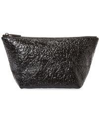 Deux Lux - Crinkle Metallic Cosmetic Bag - Lyst