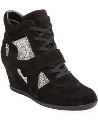 Ash - Bowie Leather Sneaker - Lyst