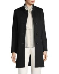 Cinzia Rocca - Welted Pocket Long Coat - Lyst
