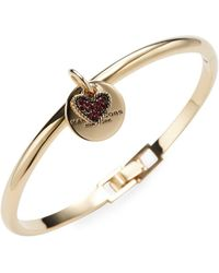 Marc Jacobs - Mj Coin Hinge Cuff - Lyst
