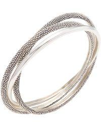 Effy Silver Bangle - Metallic