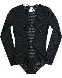 Hanky Panky - Shadow Stripe Long Sleeve Bodysuit - Lyst