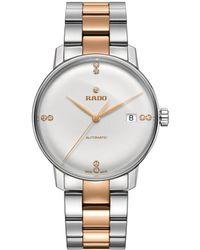 Rado Unisex Coupole Diamond Watch