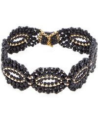 Miguel Ases - 18k Gold Safety Chain Bracelet - Lyst