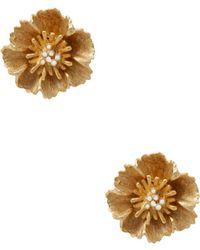 Stephanie Kantis - Floral Cluster Earrings - Lyst