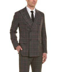 Isaia - 2pc Musa Wool Suit - Lyst