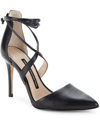 French Connection - Elise Strappy Point Toe Pumps - Lyst
