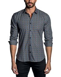 Jared Lang - Trim Fit Woven Shirt - Lyst