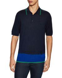 Lanvin - Spread Collar Polo - Lyst