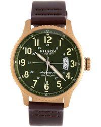 Filson - Mackinaw Field Chronograph Watch, 48mm - Lyst