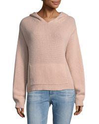 NAKEDCASHMERE - Hudson Hooded Cashmere Sweatshirt - Lyst