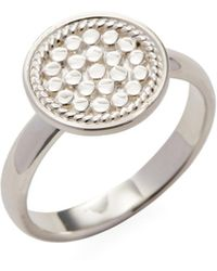 Anna Beck Jewelry - Circle Disc Cocktail Ring - Lyst